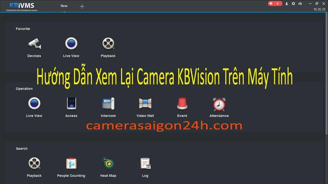 Hướng Dẫn Xem Lại Camera Dòng KBVISION Trên Máy Tính, hướng dẫn xem lại kbvision trên máy tính, hướng dẫn xem lại kbvision, xem lại kbvision trên máy tính.