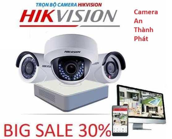 lắp đặt trọn bộ camera hikvision giá rẻ