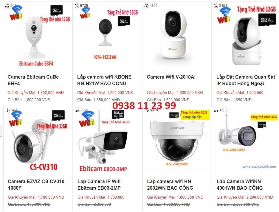 Camera Wifi Giá Rẻ, Camera Không Dây Mua ngay Camera Wifi, camera IP wifi quan sát, chống trộm, lắp đặt trong nhà, ngoài trời cho gia đình, hàng quán, văn phòng, theo dõi 24/24 qua điện thoại, Giá rẻ tiết kiệm