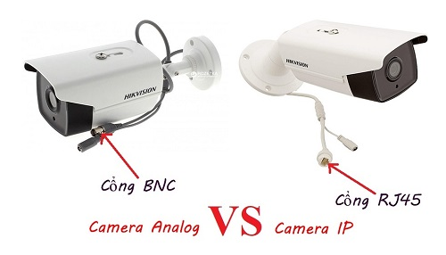 Nên lắp camera IP hay camera HD analog, Lắp camera IP, lắp camera HD analog, lợi ích camera IP, lợi ích lắp camera HD Analog , Ưu điểm của camera IP, ưu điểm của camera Analog