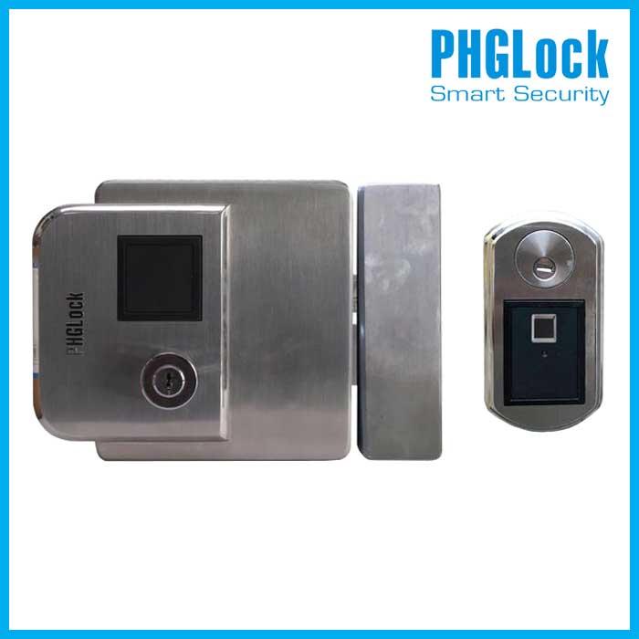 Bán khóa cổng vân tay cao cấp ngoài trời PHGLock FE38,Khóa cổng vân tay PHGlock FE38,Hướng dẫn sử dụng khóa điện FE38,Khóa FE38
