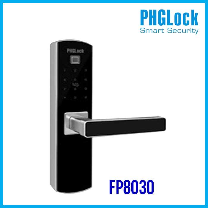 Khóa cửa vân tay PHGLOCK FP8030, Khóa cửa PHGLOCK FP8030, Khóa cửa điện tử PHGLOCK FP8030, Khóa PHGLOCK FP8030, PHGLOCK FP8030
