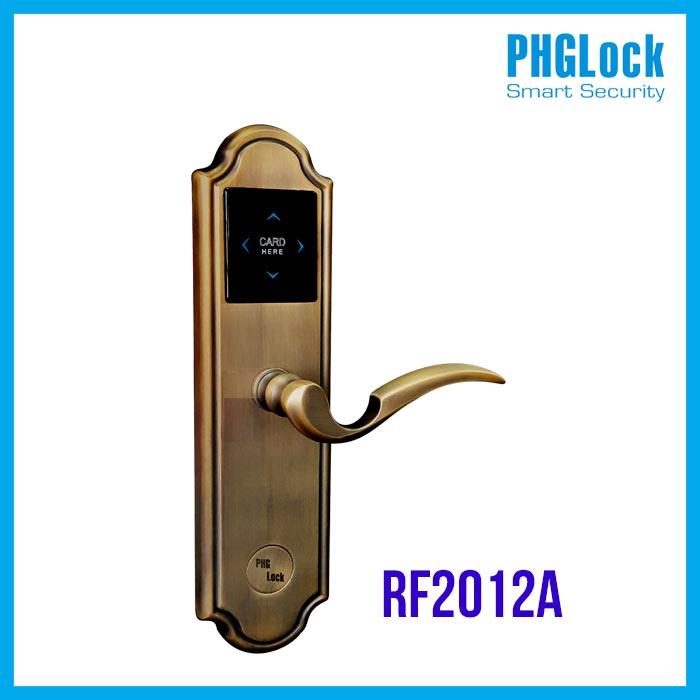 PHGLOCK RF2012A, KHÓA CỬA PHGLOCK RF2012A, KHÓA CỬA THÔNG MINH PHGLOCK RF2012A, KHÓA CỬA ĐIỆN TỬ PHGLOCK RF2012A