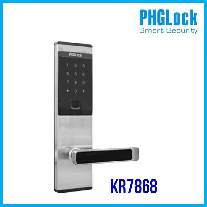 PHGLOCK KR7868, KHÓA THÔNG MINH PHGLOCK KR7868, KHÓA ĐIỆN TỬ PHGLOCK KR7868