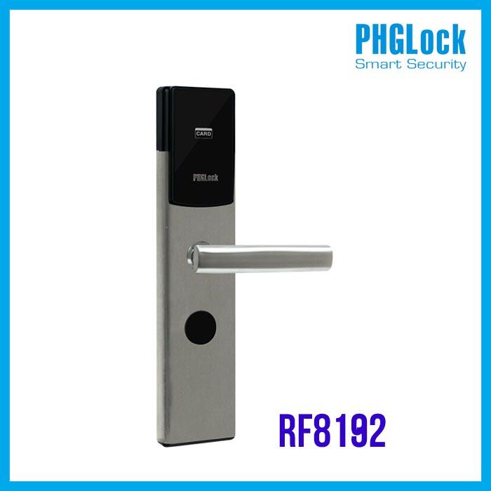 PHGLOCK-RF8192 ,Khóa khách sạn PHGlock RF8192,Khóa khách sạn, Khóa điện tử PHGLock RF8192,Bán Khóa cửa điện tử PHGLock RF8192,