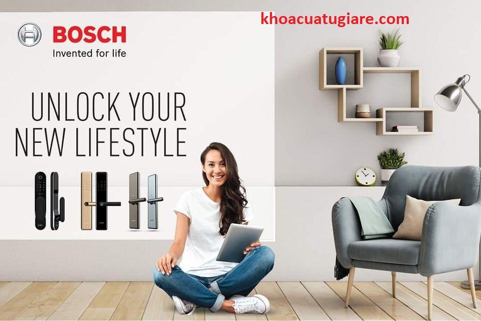 Khoá điện tử, Khoá vân tay BOSCH Khóa cửa vân tay Bosch, khóa điện tử Bosch thương hiệu Đức được trang bị công nghệ vân tay mới nhất. Bosch smart door lock chính hãng có độ thiết kế hiện Khóa cửa điện tử Bosch | Hiện nay, khóa cửa điện tử Bosch có hầu hết ở các quốc gia phát triển, khóa Bosch được đánh giá là sản phẩm chất lượng hàng đầu