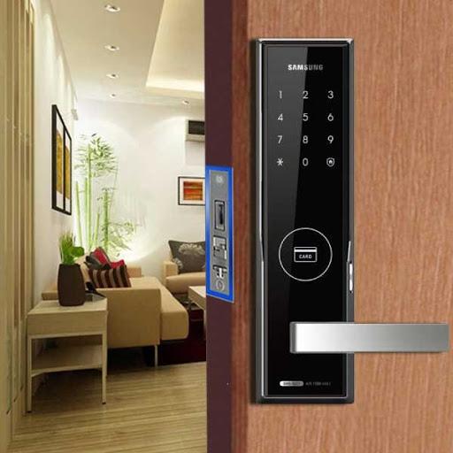 Khóa cửa điện tử SAMSUNG Khóa cửa điện tử SAMSUNG | Samsung Digital Door Lock đẹp và sang trọng. Bảng giá tốt nhất của Đại lý phân phối SAMSUNG tại Việt Nam.Khóa điện tử Samsung, Khoa dien tu Samsung, khoa cua dien