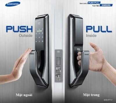 KHÓA ĐIỆN TỬ SAMSUNG CHÍNH HÃNG Khóa điện tử Samsung được VINLOCK phân phối chính hãng tại Việt Nam. ... sản phẩm khóa cửa Samsung đảm bảo tràn đầy tính công nghệ, hoạt động bền bỉ