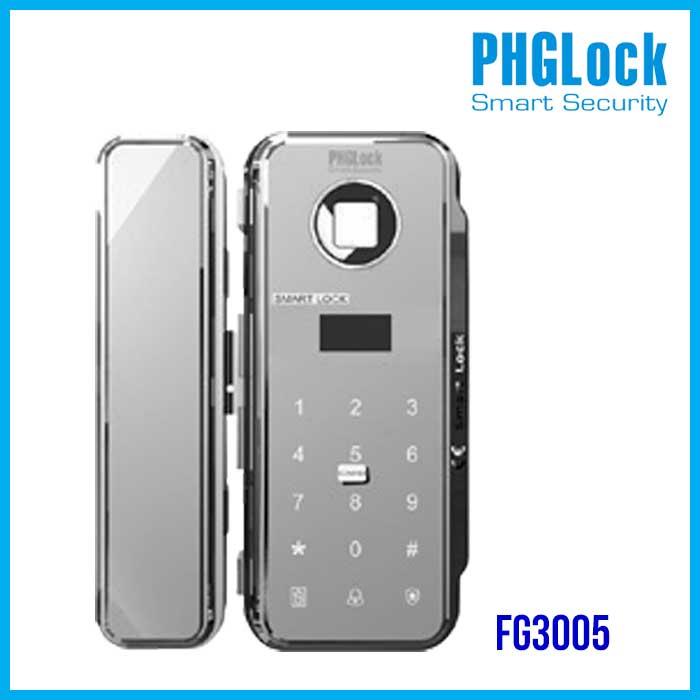 Bán khóa cho cửa kính đẩy mở, cửa lùa PHGLOCK FG3005W,Khóa Vân Tay FG3005W,khóa cửa điện từ PHGLCOK FG3005W