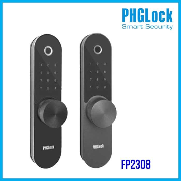 Khóa điện tử PHGlock FP2308, Khóa thông minh PHGlock FP2308, Khóa cửa PHGlock FP2308, PHGlock FP2308