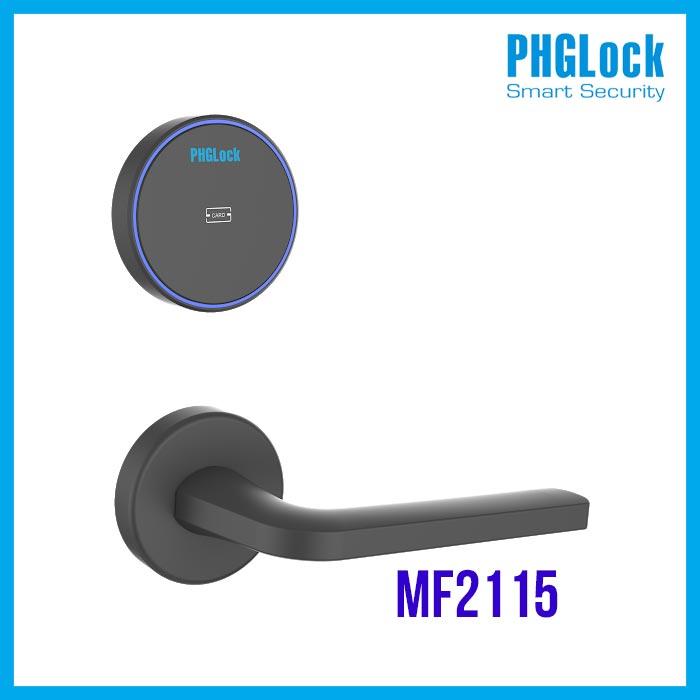 PHGLOCK-MF2115,Khoá thông minh cho khách sạn PHGLock MF2115,Bán Khóa cửa điện tử PHGLock MF2115 , Khóa cửa điện tử PHGLock MF2115