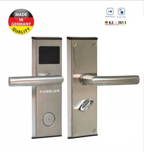 Khóa điện tử Kassler KL-383I,Khóa cửa điện tử bằng thẻ từ Kassler KL-383I,Khóa khách sạn điện tử Kassler KL-383I,Khóa khách sạn điện tử Kassler KL-383I