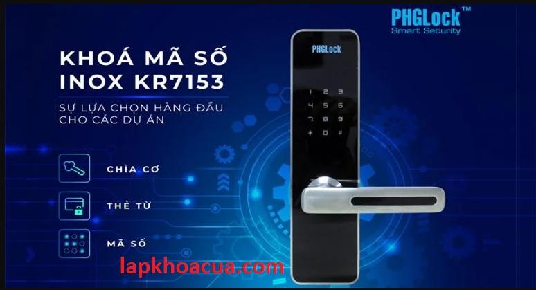 Nơi bán Khóa mã số inox PHGLock Khóa điện tử PHGLock  là sản phẩm khóa vân tay cao cấp được nhập khẩu trực tiếp từ Ustraylia. Khóa có chức năng mở khóa bằng