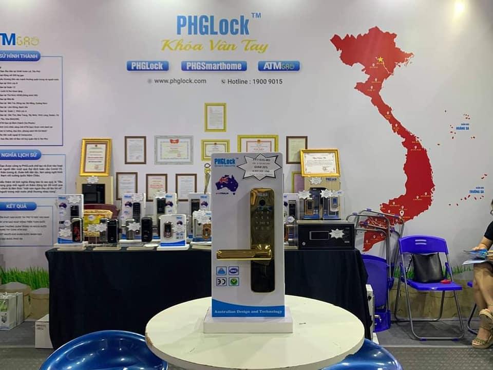 Khóa cửa PHGLock - Khóa Vân Tay - Mã Số Khóa cửa điện tử PHGLock, khóa vân tay, khóa mã số, khóa thẻ từ công nghệ Australia, kiểu dáng thiết kế đẹp mắt, công nghệ hiện đại, sử dụng an toàn và tiện